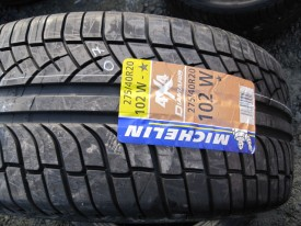 275 40 20 102W Michelin Diamaris 4x4